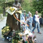 Senna Statue in Imola